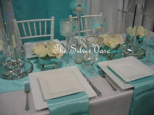 Details of Finely Dressed Table